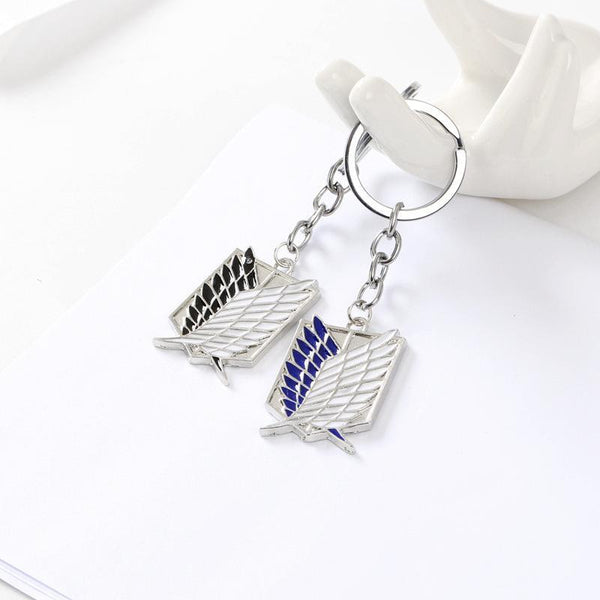 Attack on Titan Keychain -  the Sign of Investigation Team -  Love Name Necklace