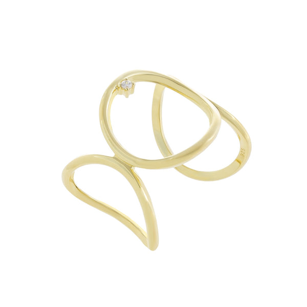 Open Circle Link Ring