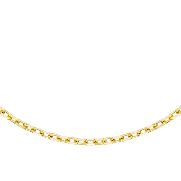Thin Box Link Necklace