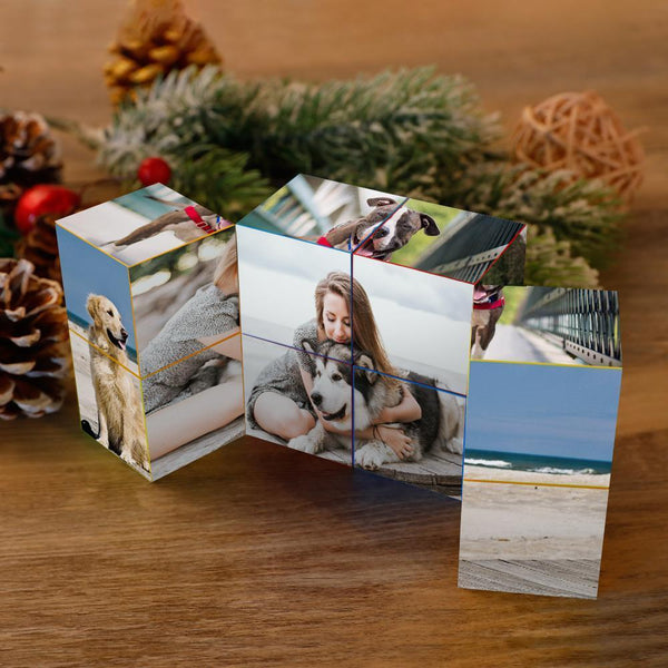 Custom DIY Infinity Photo cube Folding Photo Cube Personalized Gifts