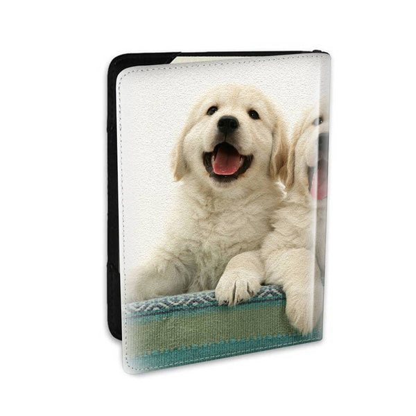 Personalized Photo Passport Holder Leather Travling With Cute Pet - 5.5 inch