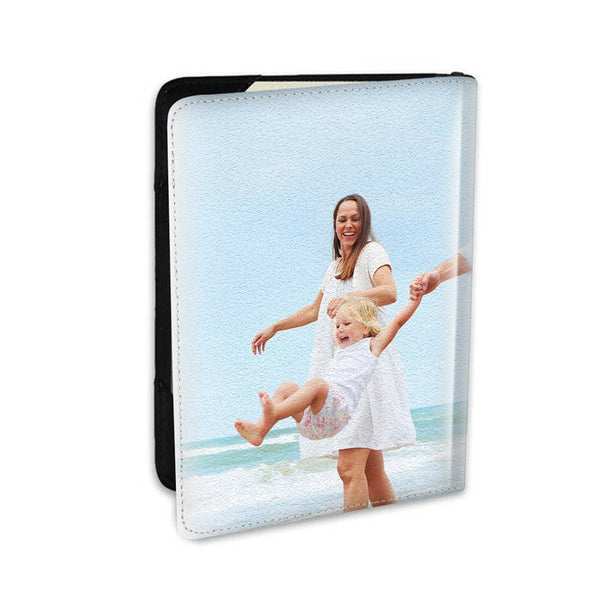 Personalized Photo Passport Holder Leather For Wonderful Family - 5.5 inch