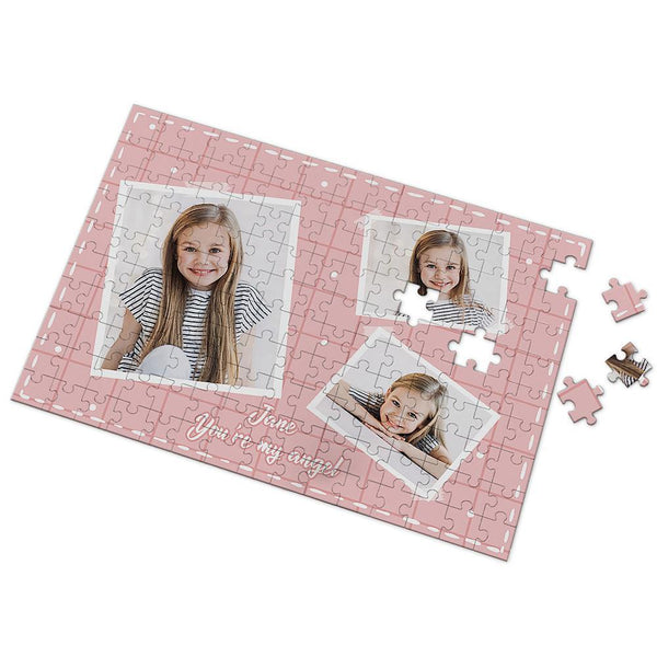 You Are My Angel Custom Photo Puzzle 35-500 Pieces