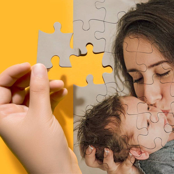 Mother's Gifts Personalized Photo Puzzle for Mom 35-1000 Pieces
