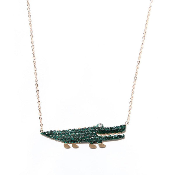 Little Crocodile Anklet