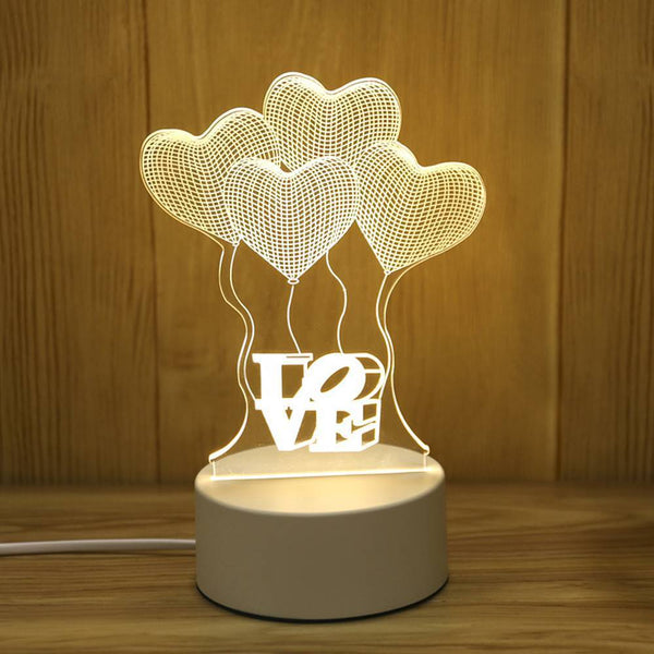 Sweet Gift Love Balloon Night Light Children's Lights