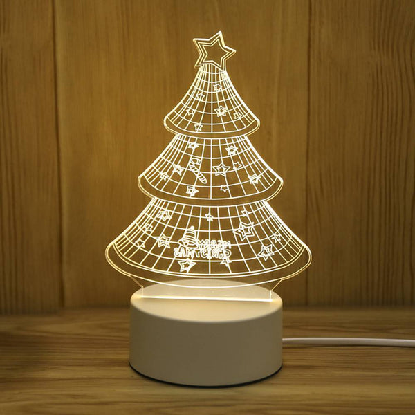 Creative Christmas Tree Night Light Children's Lights
