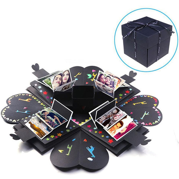 Diy Creative Photo Box Cube Multi-layer Explosion Box