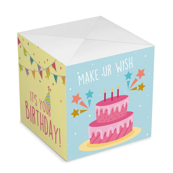 Personalized DIY Birthday Surprise, Creative Idea Box Photo Surprise Explosion Bounce Box