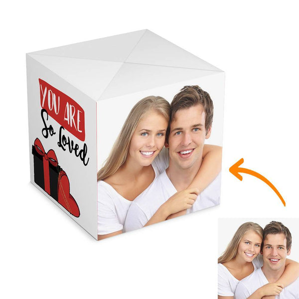 Personalized Surprise Box Photo Surprise Explosion Bounce Box DIY - Valentine's Day Gift