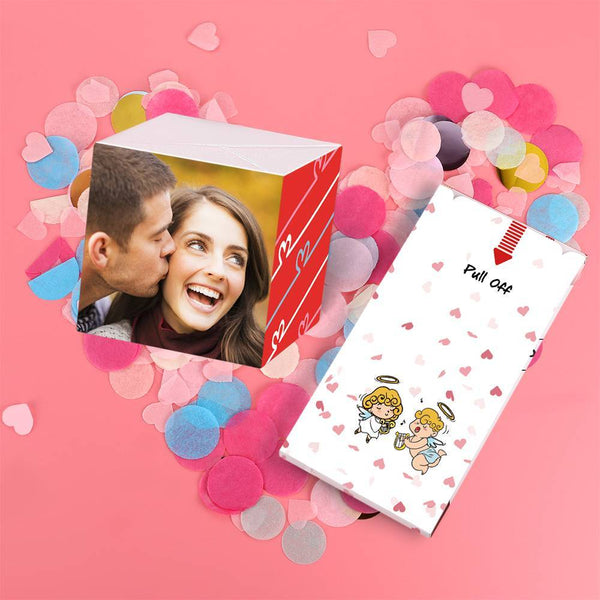 Personalized Surprise Box Photo Surprise Explosion Bounce Box DIY - Valentine's Surprise Gift