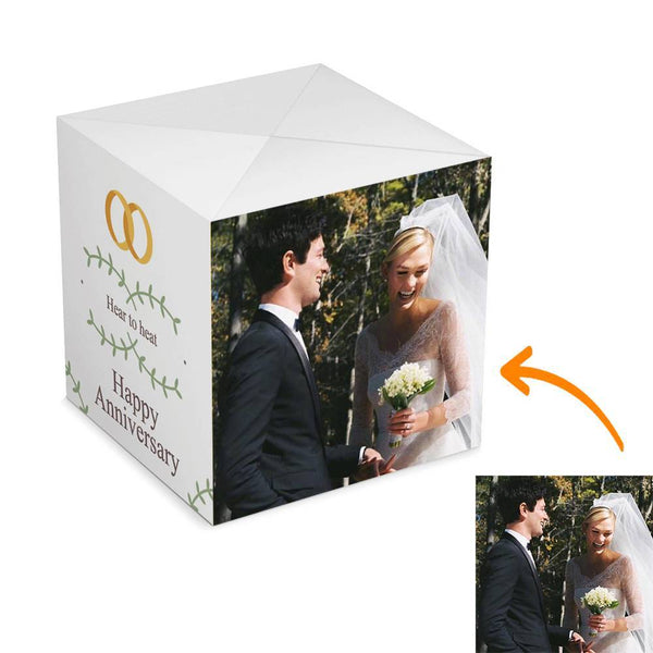 Personalized Surprise Box Photo Surprise Explosion Bounce Box DIY - Wedding Anniversary