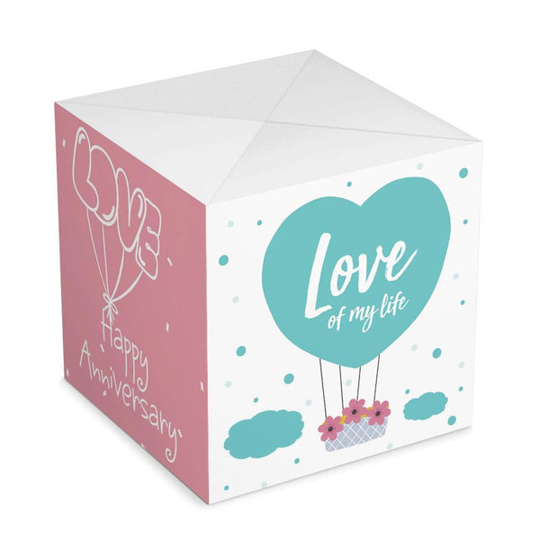 Personalized Surprise Box Photo Surprise Explosion Bounce Box DIY - Happily Ever After