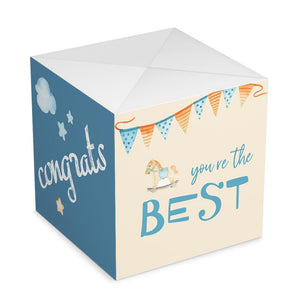 Custom DIY Congrats Surprise, Amazing Surprise Box Photo Surprise Explosion Bounce Box