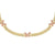 Pavé Pink Butterfly Chain Link Choker