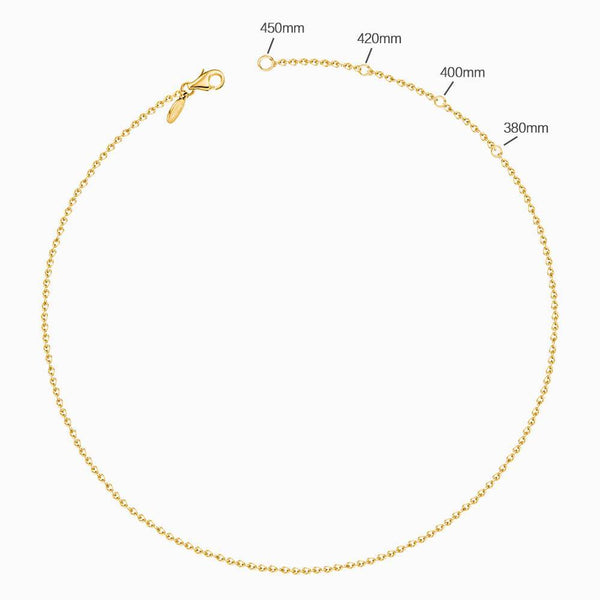 Coin Tag Personalized Birthstone Necklace With Engraving 14k Gold Plated Silver