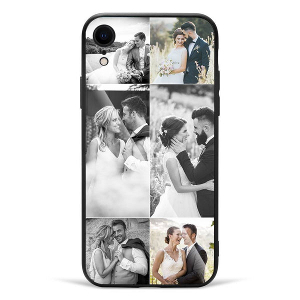 iPhoneXr Custom Glass Surface Photo Phone Case - 6 Pictures
