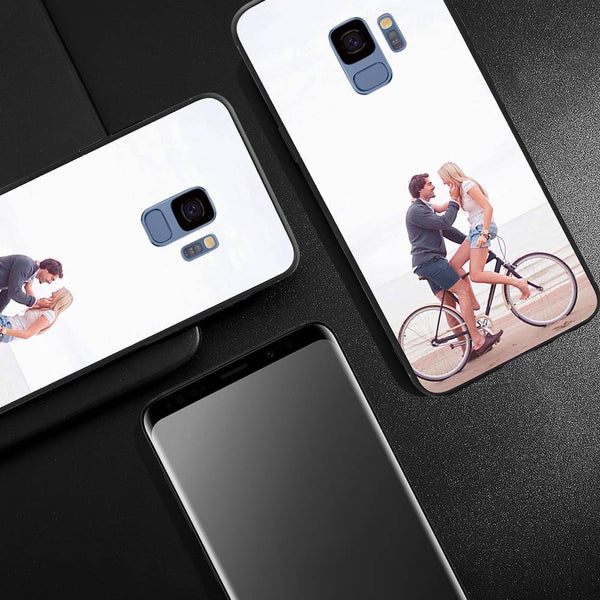 Samsung Galaxy S9 Custom Glass Surface Photo Phone Case