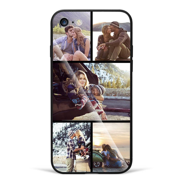 iPhone7/8 Custom Glass Surface Photo Phone Case - 5 Pictures