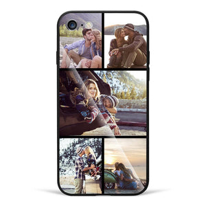 iPhone6/6s Custom Glass Surface Photo Phone Case - 5 Pictures