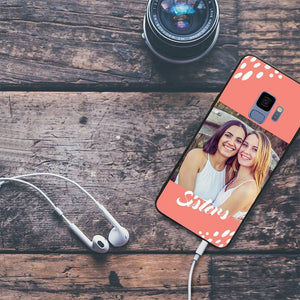 Galaxy S9 Custom Sisters Photo Phone Case