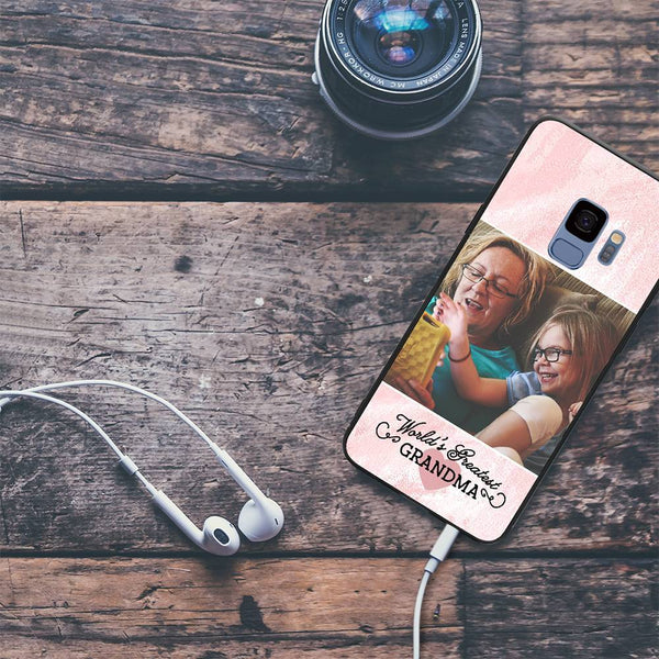 Galaxy S9 Custom Grandma Photo Phone Case