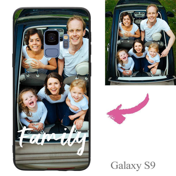 Galaxy S9 Custom We Are Family Photo Phone Case