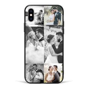 iPhone Custom Glass Surface Photo Phone Case - 6 Pictures