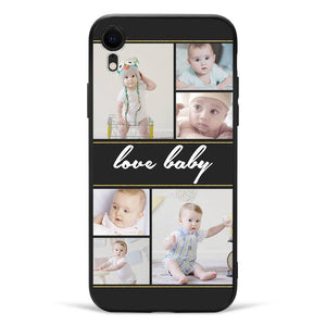 iPhoneXr Custom Photo Phone Case - 6 Pictures with Name