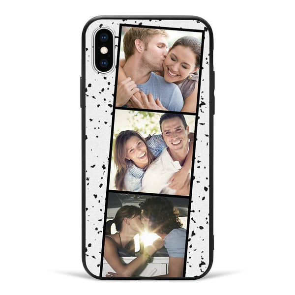 iPhoneX Custom Photo Phone Case - 3 Pictures