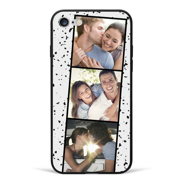 iPhone 7/8 Custom Photo Phone Case - 3 Pictures