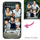 "iphoneXs Max Custom ""We Are Family"" Photo Phone Case"