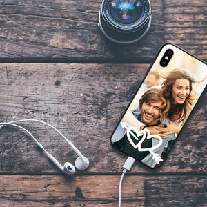 iphoneX Custom Love Photo Phone Case