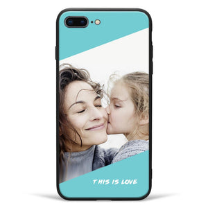 "iPhone7p/8p Custom ""This Is Love"" Photo Phone Case"