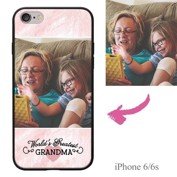 "iPhone6/6s Custom ""Grandma"" Photo Phone Case"