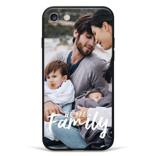 "iPhone7/8 Custom ""We Are Family"" Photo Phone Case"