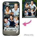 "iPhone6/6s Custom ""We Are Family"" Photo Phone Case"