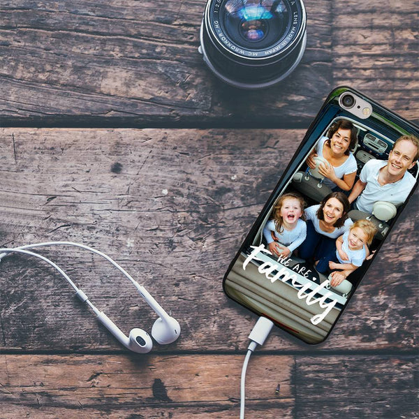 "iPhone6p/6sp Custom ""We Are Family"" Photo Phone Case"