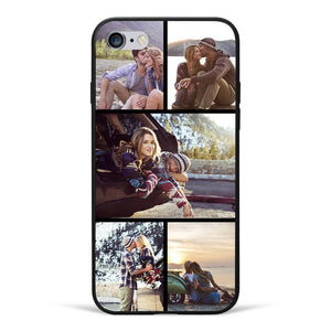 iPhone6/6s Custom Photo Protective Phone Case - 5 Pictures Soft Shell Matte
