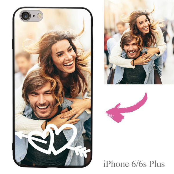 iPhone6p/6sp Custom Love Photo Protective Phone Case Soft Shell Matte
