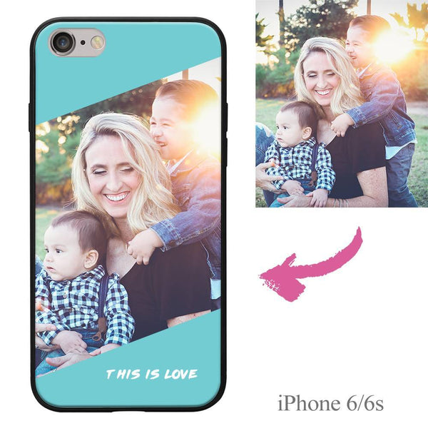 "iPhone6/6s Custom ""This Is Love"" Photo Protective Phone Case Soft Shell Matte"