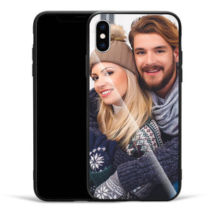 Joke iPhone Case - Custom Funny Phone Case iPhone Xs Glass Surface