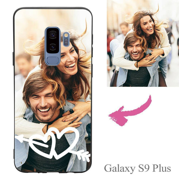 Galaxy S9 Plus Custom Love Photo Protective Phone Case Soft Shell Matte