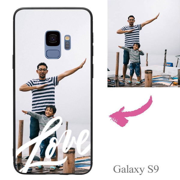 Galaxy S9 Custom Love Photo Protective Phone Case Soft Shell Matte