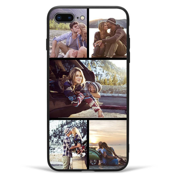 iPhone7p/8p Custom Photo Phone Case - 5 Pictures