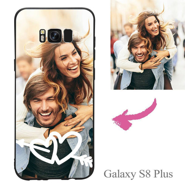Galaxy S8 Plus Custom Love Photo Protective Phone Case Soft Shell Matte