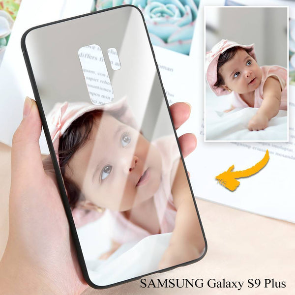 Samsung Galaxy S9 Plus Custom Photo Protective Phone Case - Glass Surface