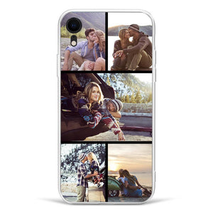iPhoneXr Custom Photo Phone Case - 5 Pictures