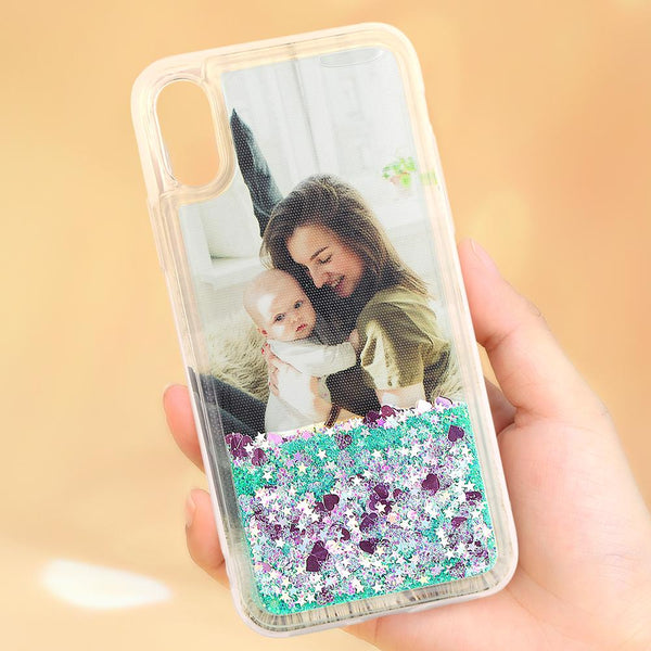 Graduation Gifts - Custom Pink Quicksand Photo iPhone Case For All iPhone Type