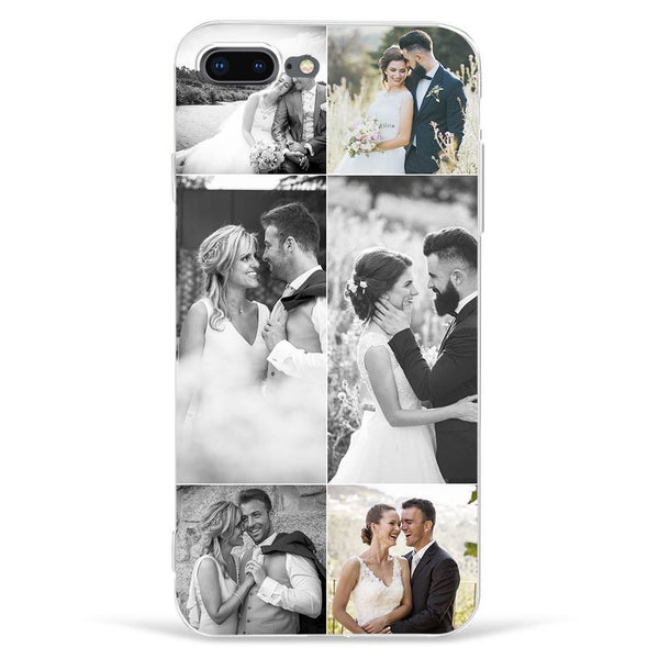 iPhone7p/8p Custom Photo Phone Case - 6 Pictures